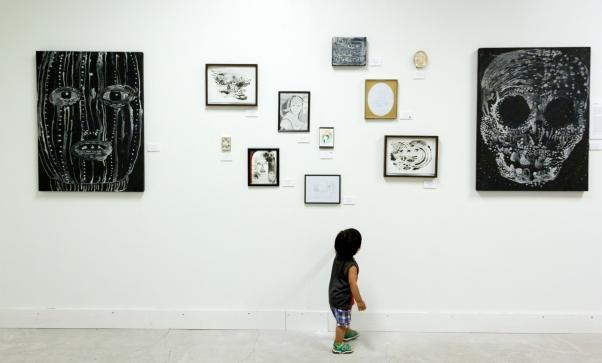 a little art fan
